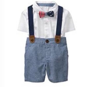 🇺🇸Gymboree baby boy patriotic outfit